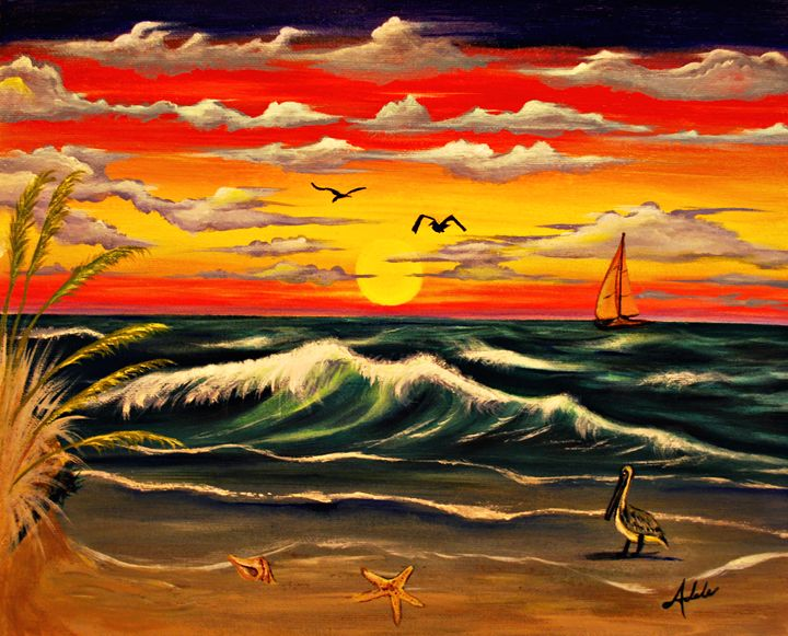 Sailors Delight - Adele's Art