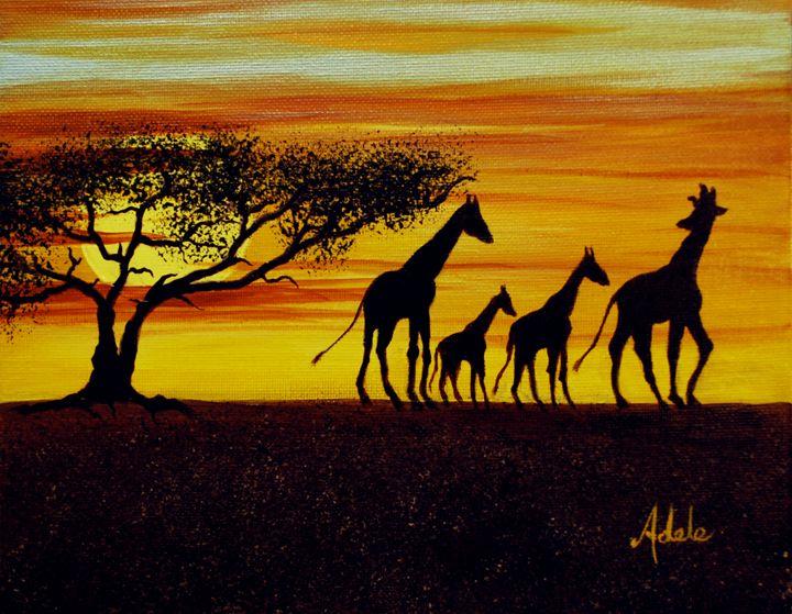 Giraffe - Adele's Art