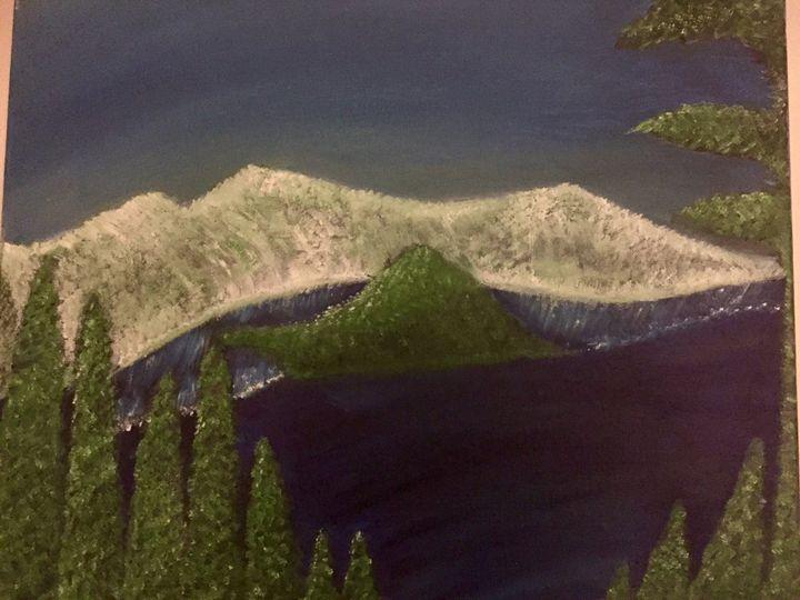 Crater Lake, Oregon - Ruby