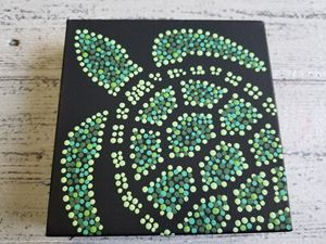 Turtle Dot Painting