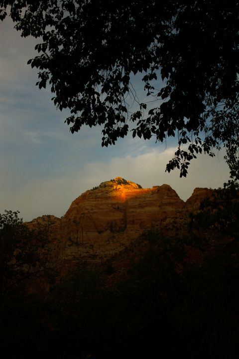 Sunset in Zion - Mrs. M