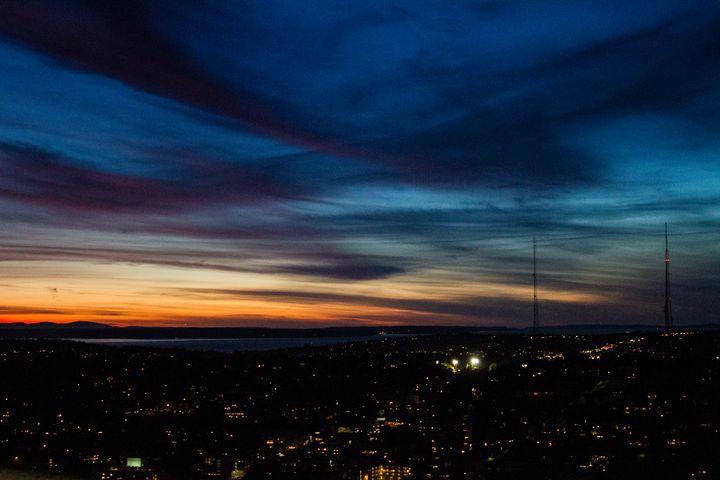 Seattle by Night - Mrs. M
