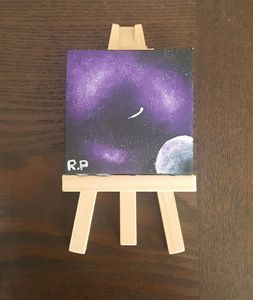 Miniature Purple Galaxy