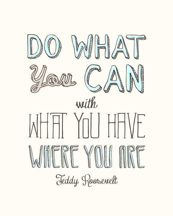 Do What You Can II - Megan Romo