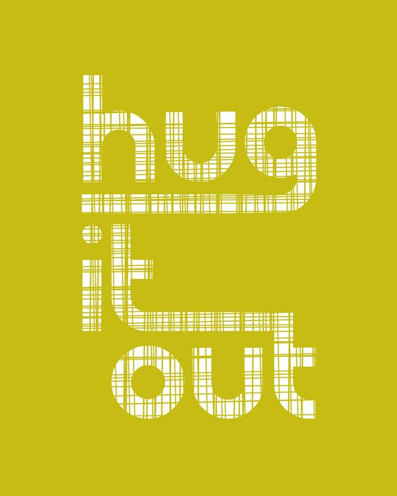 Hug it Out in Chartreuse - Megan Romo