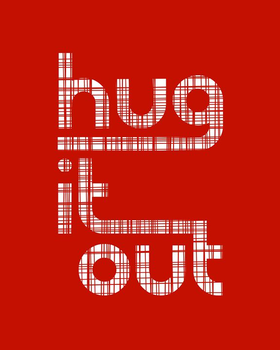 Hug it Out in Red - Megan Romo