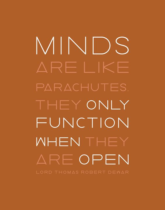 Minds like Parachutes in Terra Cotta - Megan Romo