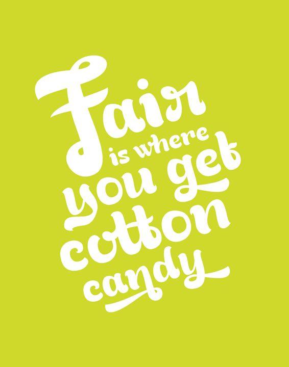 Fair in Chartreuse - Megan Romo