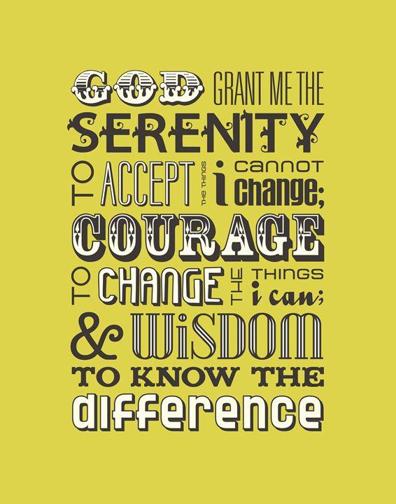 Serenity Prayer •Chartreuse - Megan Romo