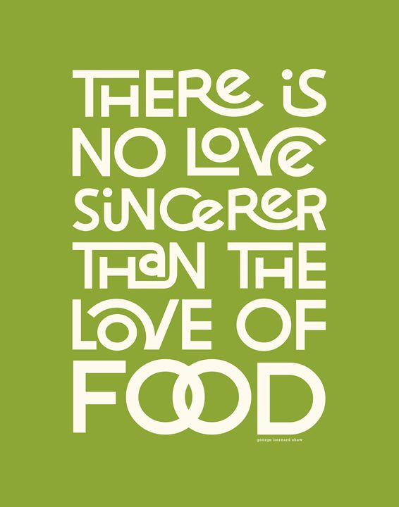 Sincere Love in Food • Green - Megan Romo