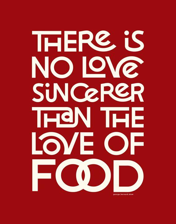 Sincere Love in Food •Red - Megan Romo