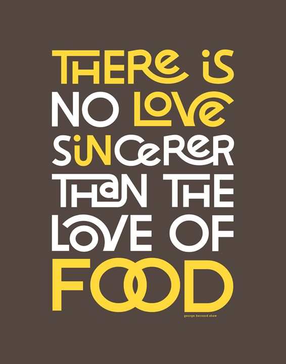 Sincere Love in Food - Megan Romo