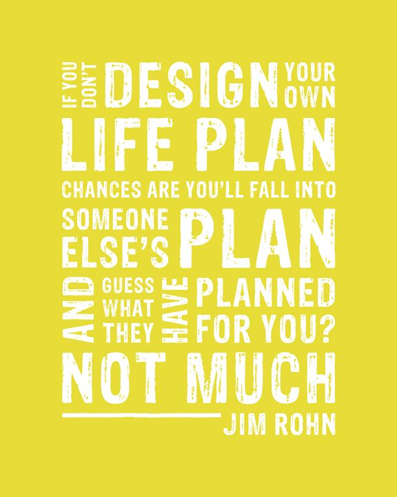 Design Your Life Plan • Yellow - Megan Romo