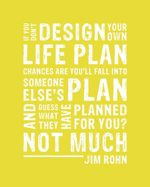 Design Your Life Plan • Yellow - Megan Romo