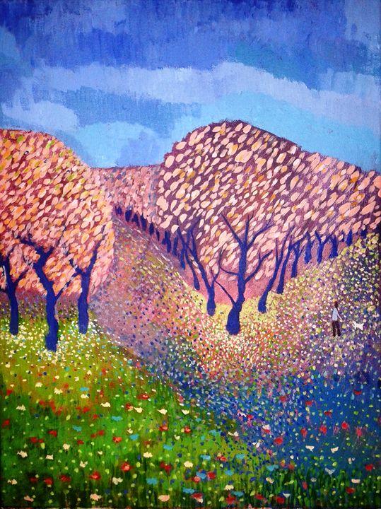 Summer Blossom - Nicola Milliner Art
