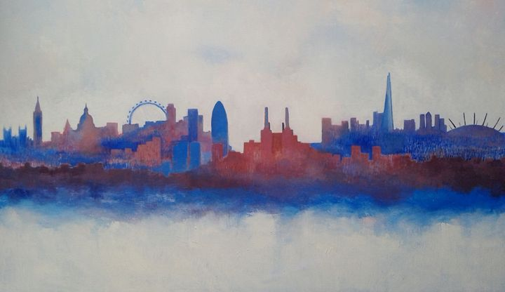 London Skyline - Nicola Milliner Art