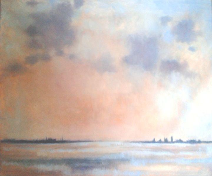 Distant City - Nicola Milliner Art