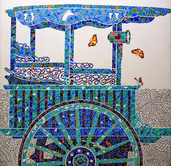 Blue Calesa - Gallery Enrique