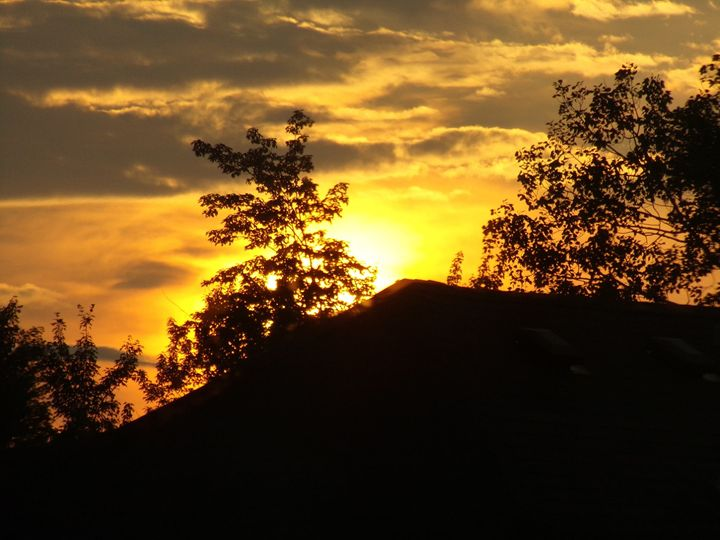 Glowing Sunset - myphotography