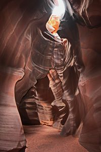 walkway in Antelope Canyon - Juan's corridor