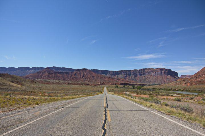 Towards Death Valley National Park - Juan's corridor