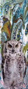 Owl Abstract II