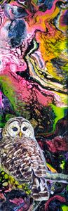 Owl Abstract I