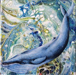It's a Blue Whale!