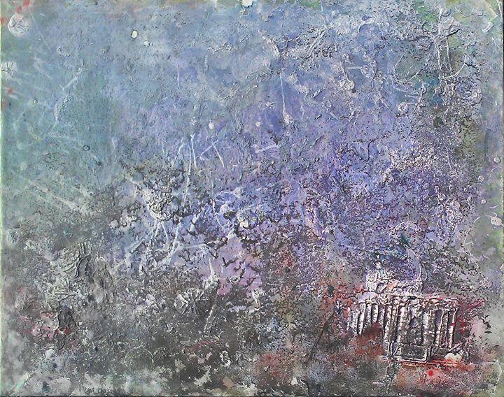 In Ruins - Megan Justine Art