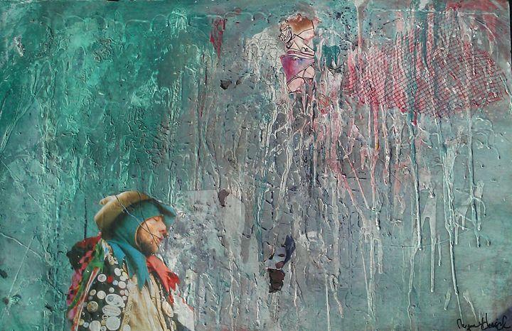 The Wanderer - Megan Justine Art