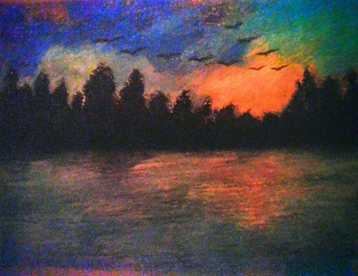 Descending Sunset - PORTRart