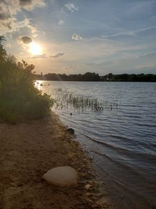 Sun setting over the Lake - Beauty Within