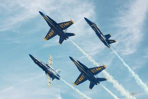 Blue Angels Break