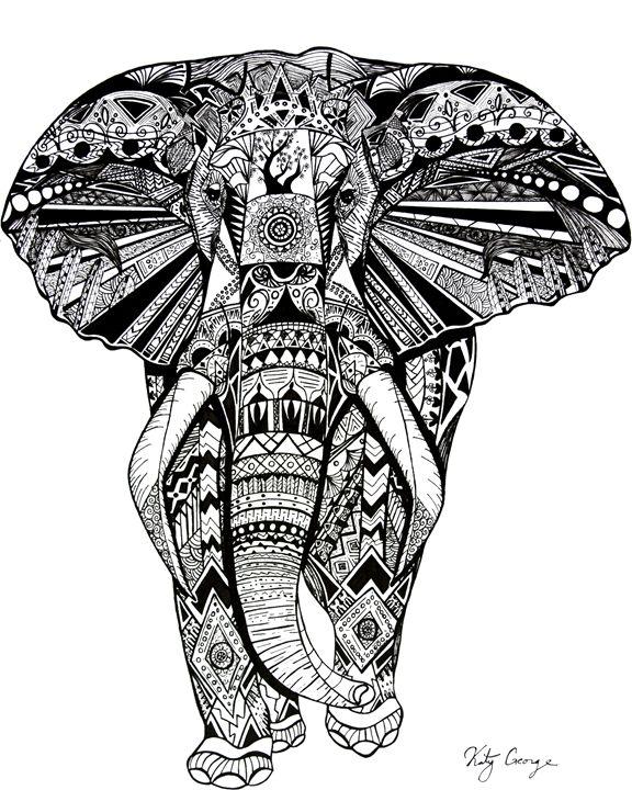 Elephant - Creativity by Katy