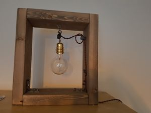 lampe finition or