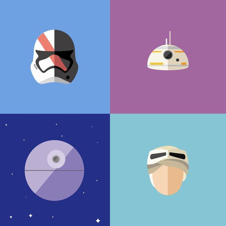 Space color - Nerd Prints