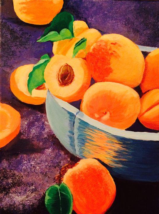 Summer peaches - S. Kernan