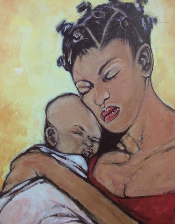 Mother and Child - Ken Hutley Designs