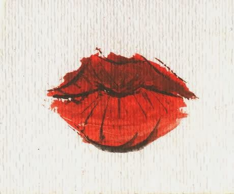 The Red Lips - D.M. Enslin