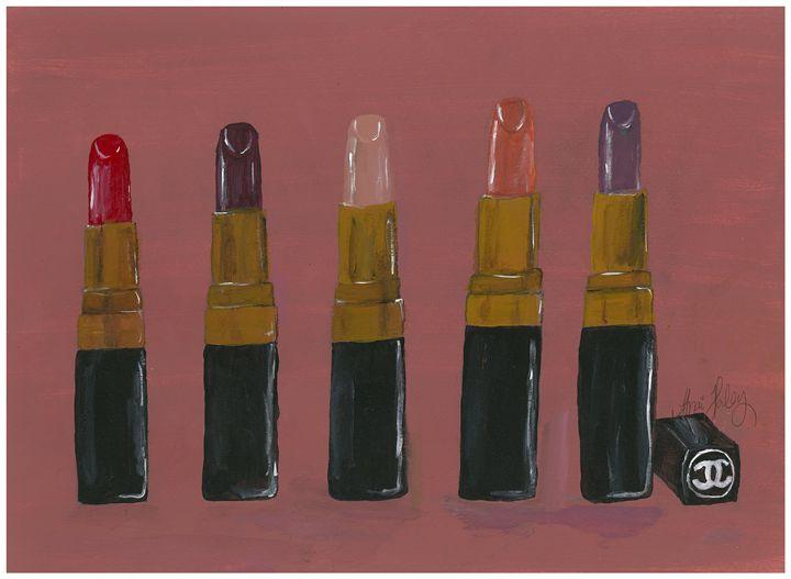 Chanel Lipsticks (Fall Colors) - Darcia's Designs