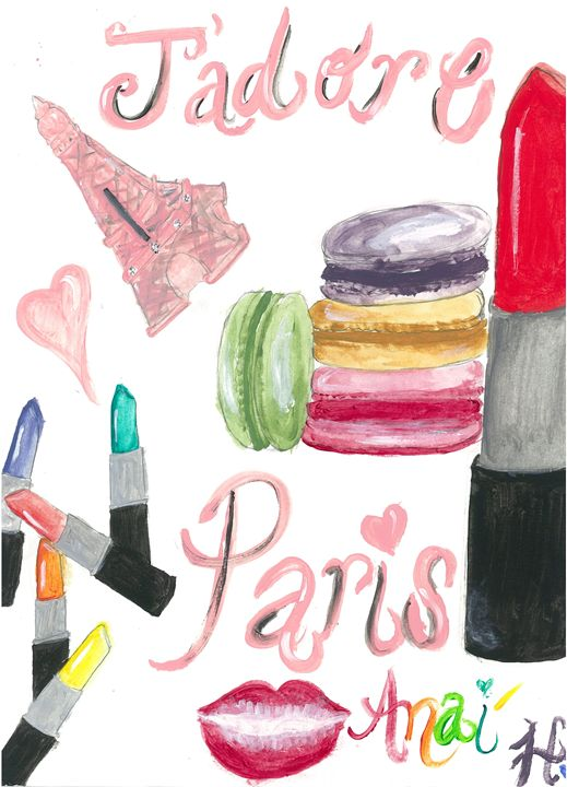 From Paris With Love - Darcia's Designs