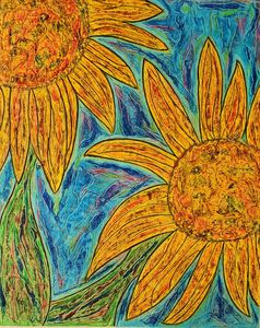 """My Sunflowers"" - Jim Ballman"