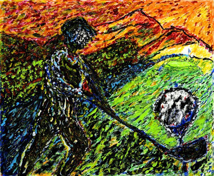 """""""Midnight Golf"""" - Jim Ballman"""