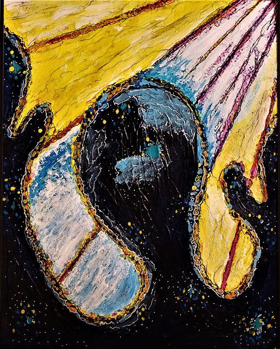 """""""Galactic Worship""""  Description - Jim Ballman"""