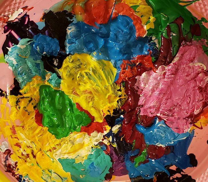 """EXUBERANT Palette"" - Jim Ballman"