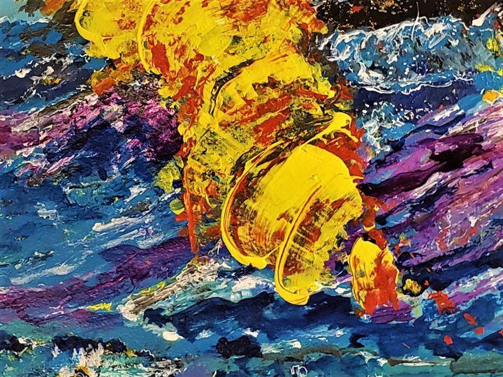 """""""Pillar of Fire"""" - Jim Ballman"""