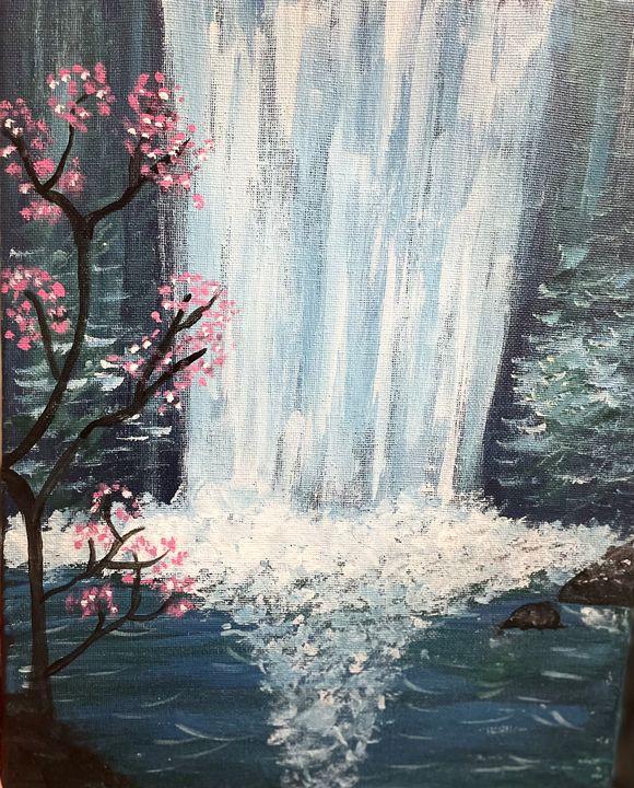 Midnight waterfall - SsamDesigns