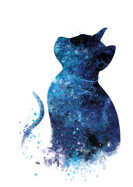 Blue Cat - MonnPrint