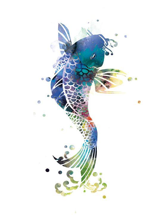 Koi Fish - MonnPrint