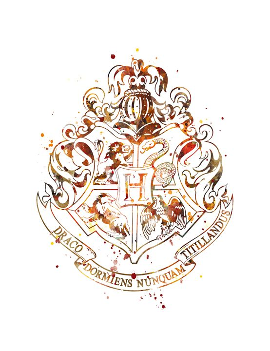 Hogwarts Crest - MonnPrint